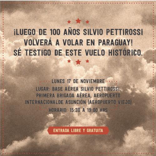 Vuelo Historico invitacion para FB
